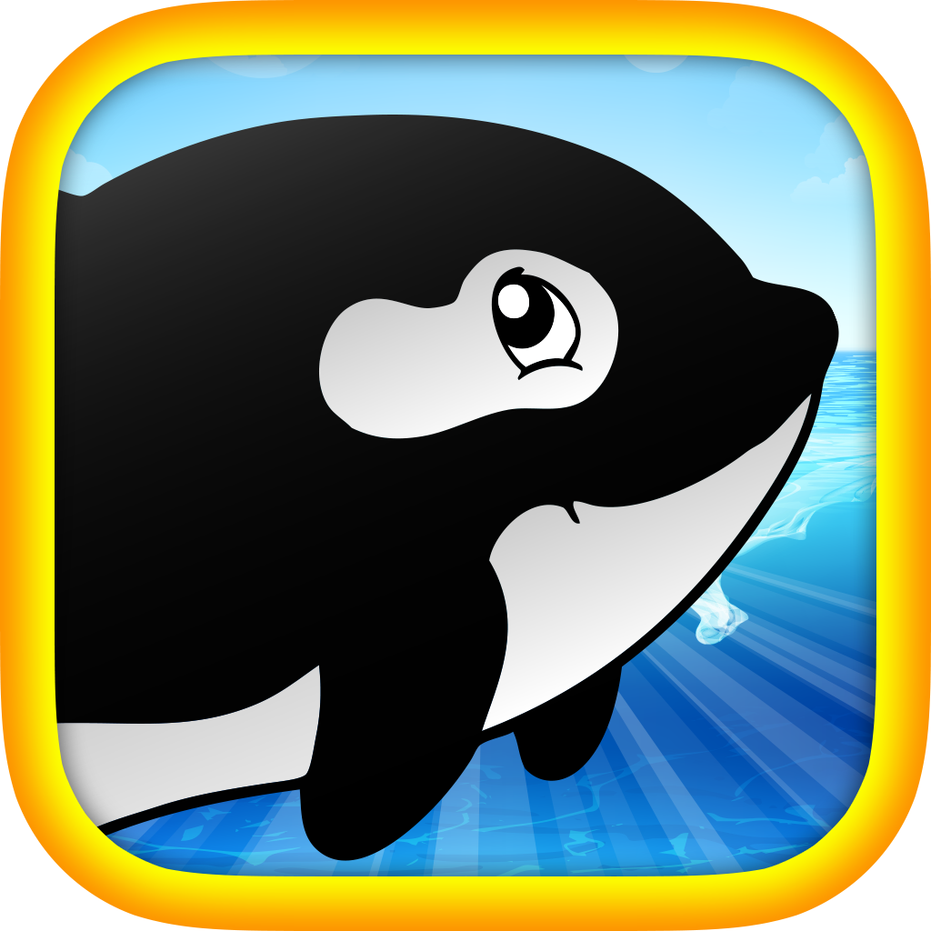 Olly the Orca FREE - Enjoy the scary underwater world!